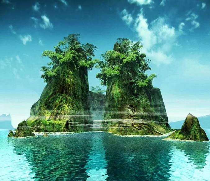 Green islands