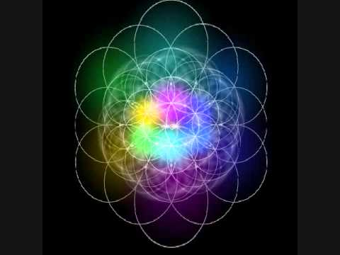 Flower of Life rainbow